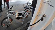 Tankstelle für Stromfahrräder