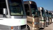 Die Busse stehen schon bereit