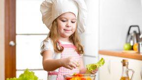Kinder an gesundes Essen heranführen